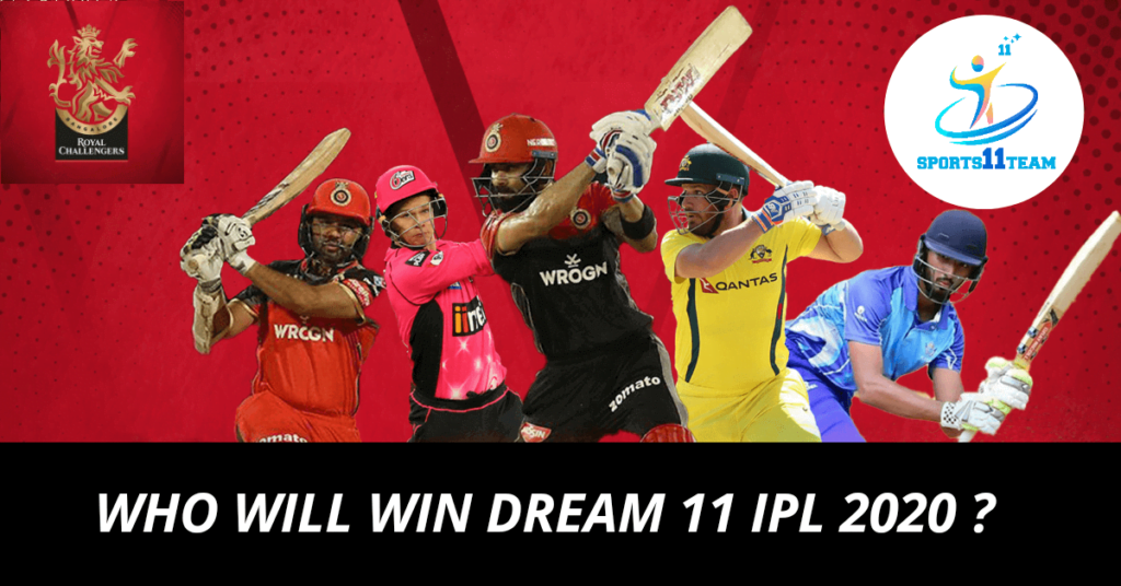 Who will win Dream 11 IPL 2020 This Year Dubai, UAE